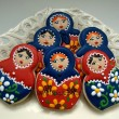 Russian Nesting Doll Cookies