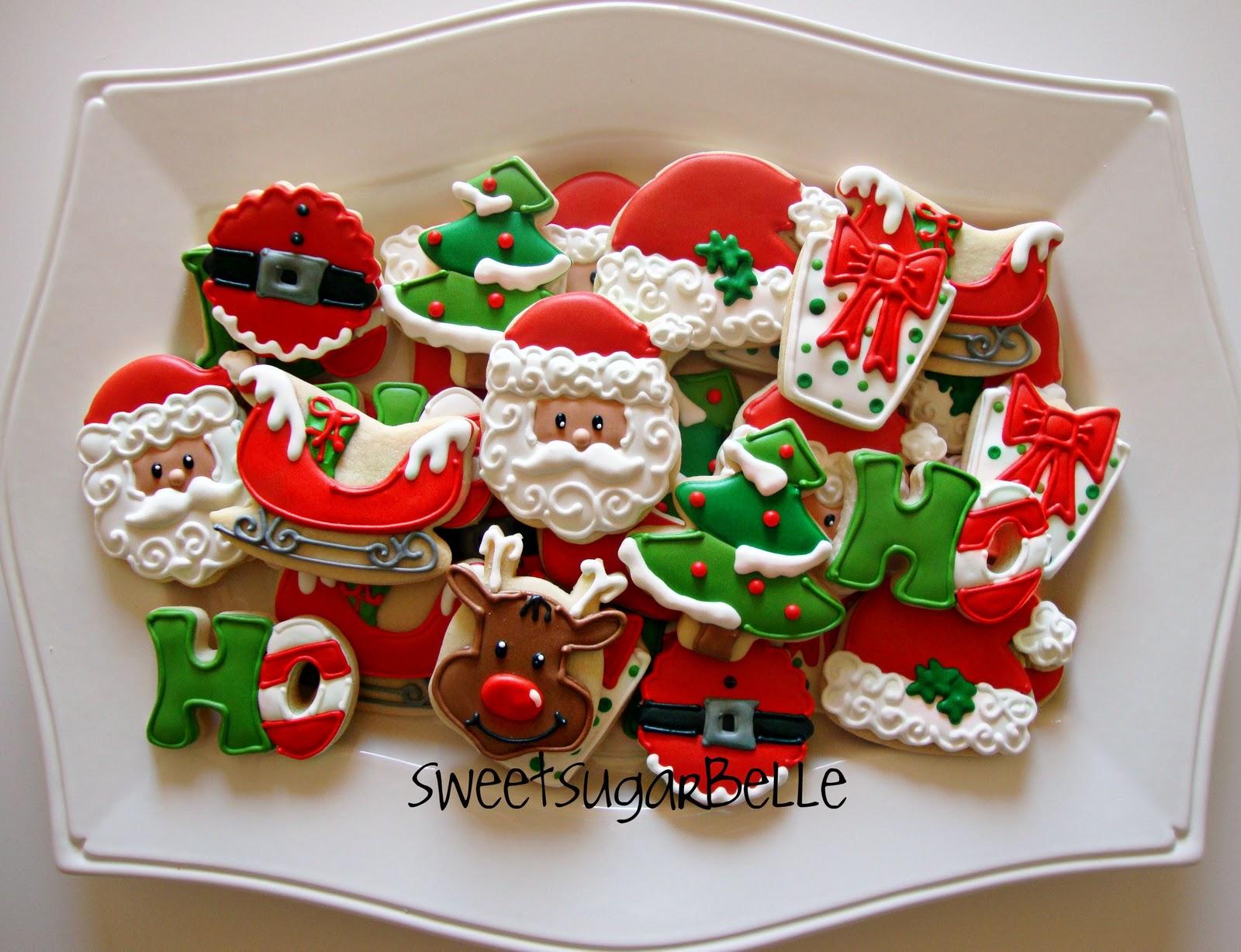 All Things Santa Platter The Sweet Adventures Of Sugar Belle