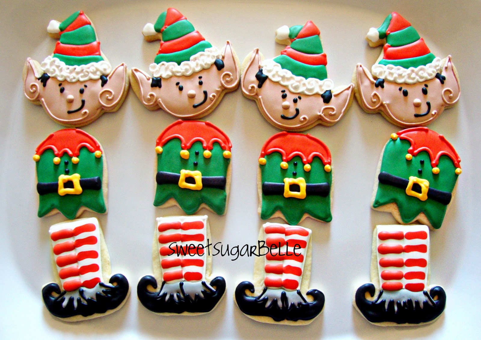 Creative Christmas Cookies Using Halloween Cutters The Sweet