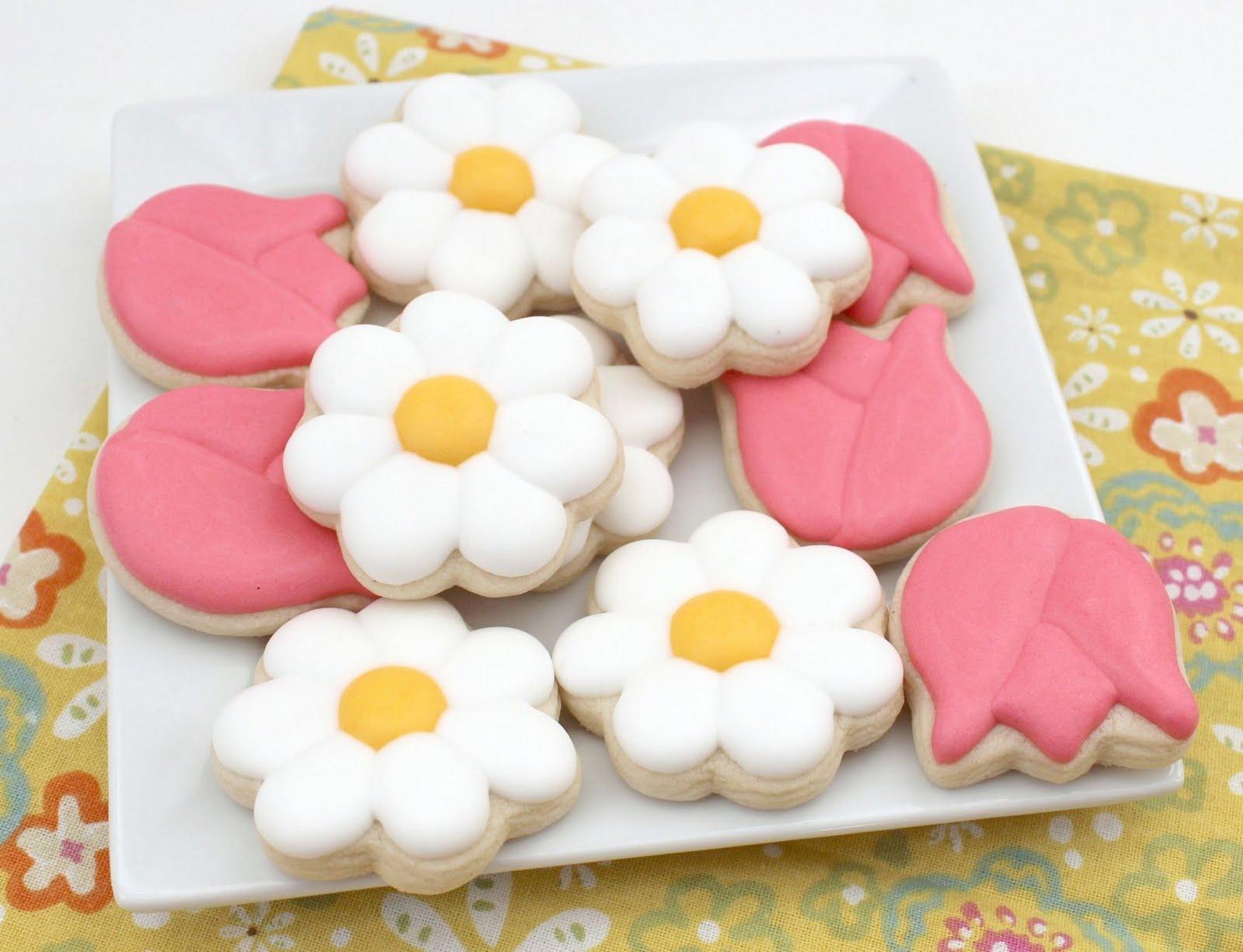 196 & Flowers in Pots Cookies - The Sweet Adventures of Sugar Belle