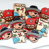 Pirate Cookie Platter