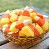 Dipped Candy Corn Cookies