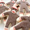 Platter o' Sock Monkey Cookies