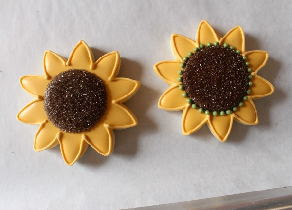Pretty Sunflower Cookies The Sweet Adventures Of Sugar Belle