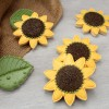 Pretty Sunflower Cookies