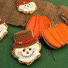 Ice Cream Scarecrow Cookies
