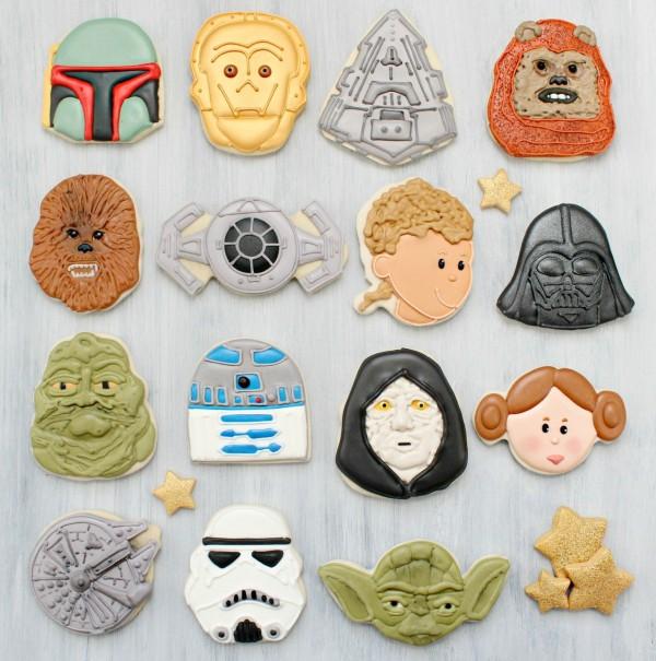 Star Wars Chewbacca Cookie Cutter Icing Fondant