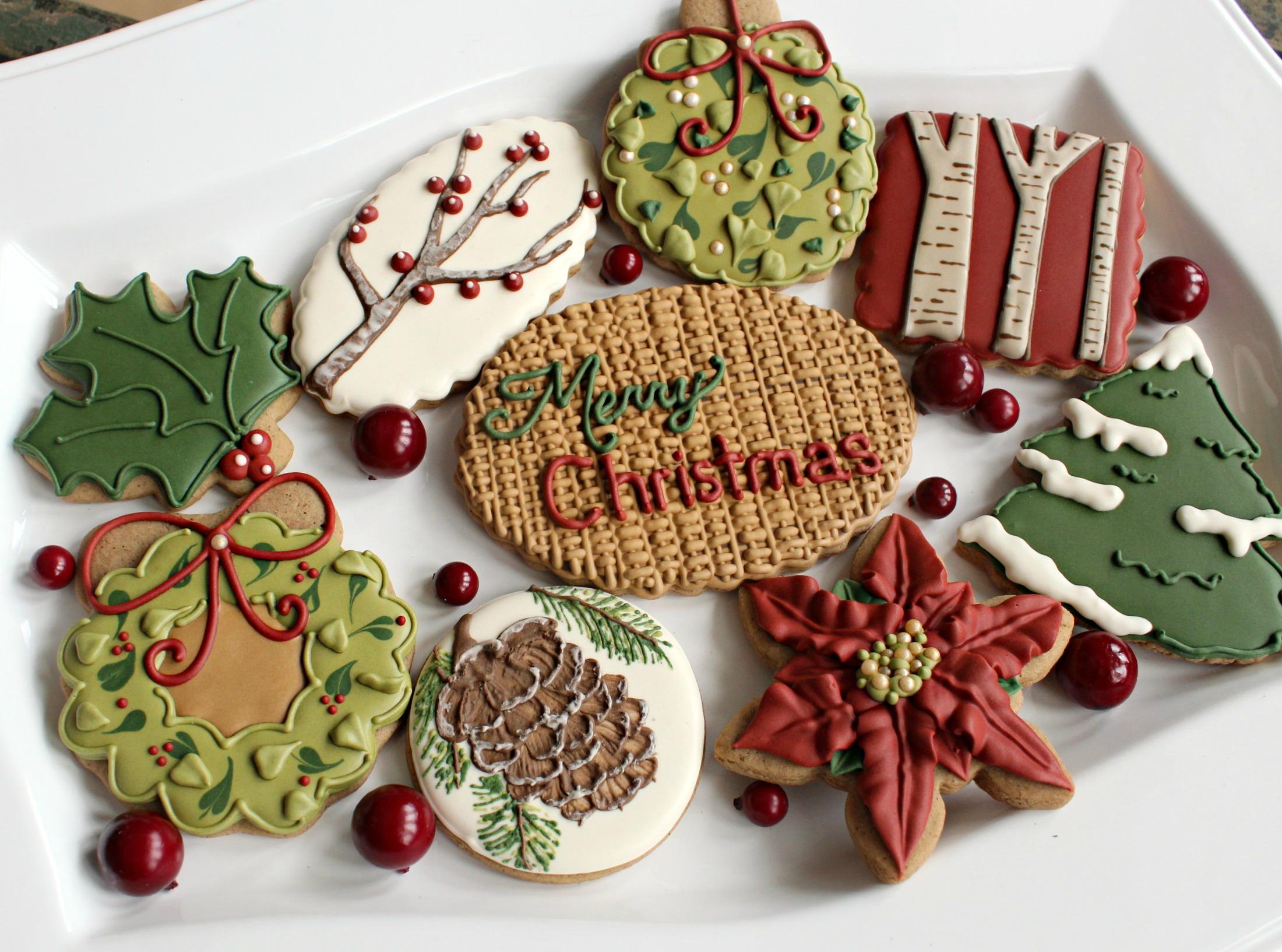 Christmas Sugar Cookies.Brown Sugar Roll Out Cookies The Sweet Adventures