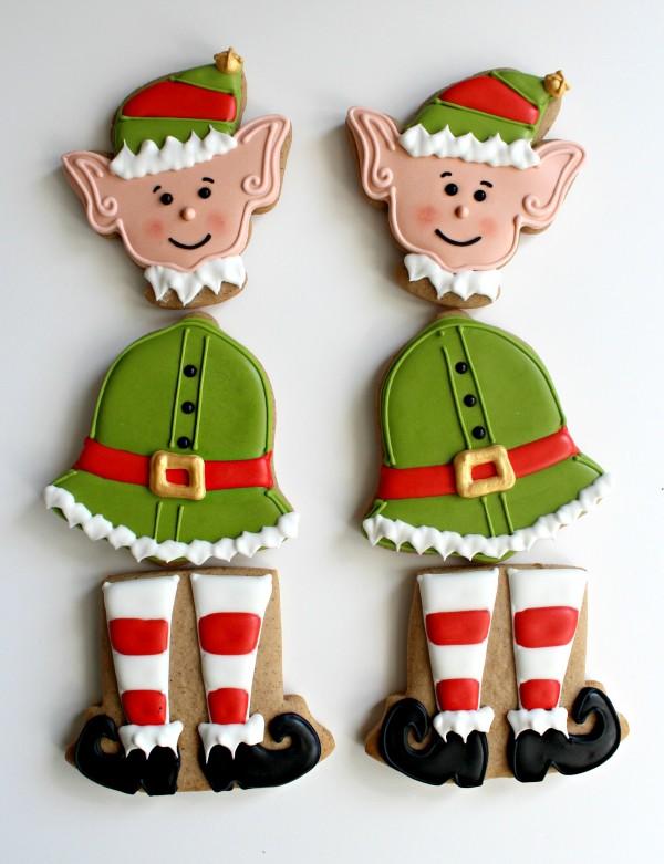 Dancing Elf Cookies The Sweet Adventures Of Sugar Belle