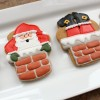 Santa in Chimney Cookies