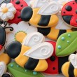 Ladybirds and Bee Cookies