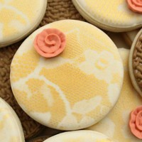 Close Up Lace Cookies