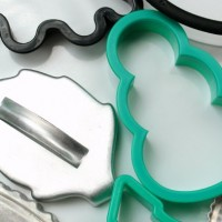 leaf and snowman cookie cutter