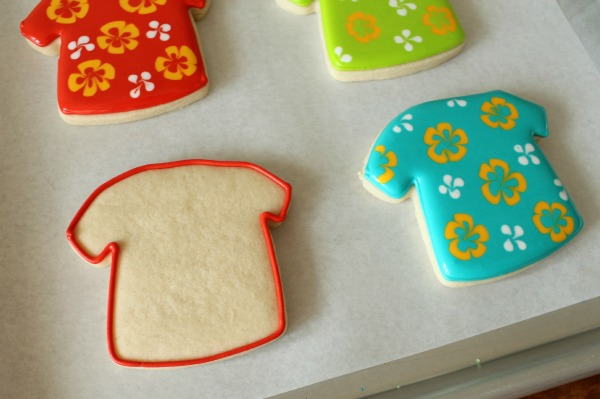 Hawaiian Shirt Cookies For Fathers Day The Sweet Adventures Of