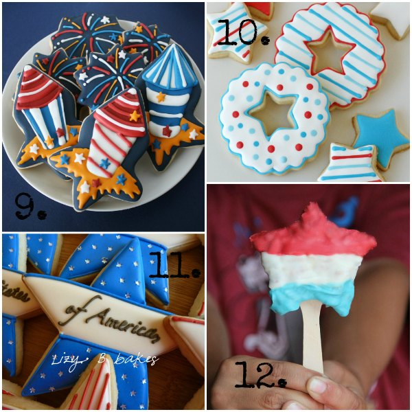 4th of july cookie cutters