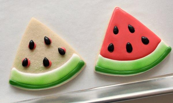 Watermelon Slice Cookies The Sweet Adventures Of Sugar Belle