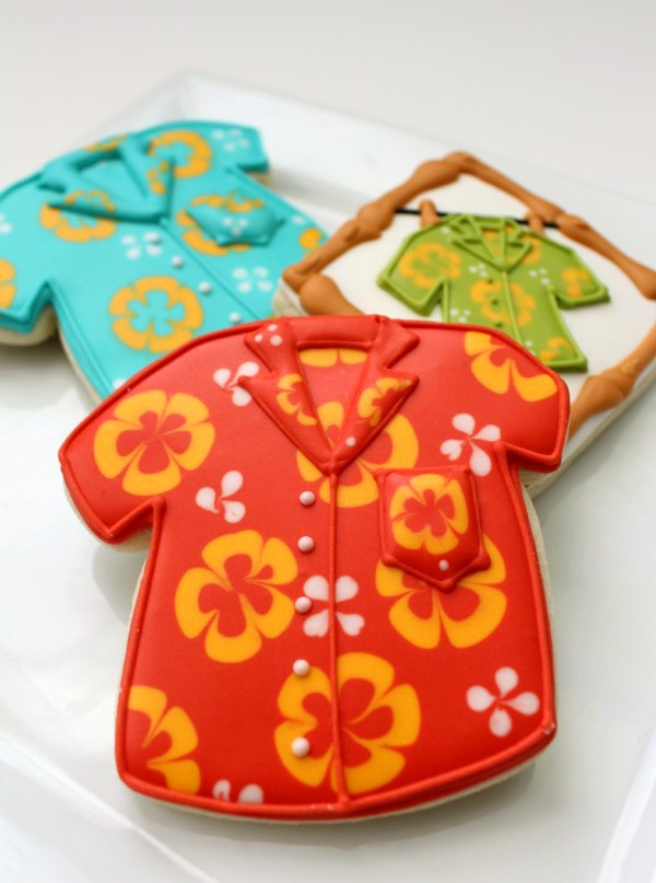 b7dfa5ab Hawaiian Shirt Cookies for Father's Day – The Sweet Adventures of ...