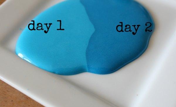 how to make seafoam green icing