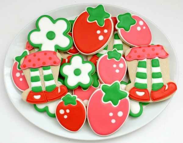 Simple Strawberry Shortcake Cookies – The Sweet Adventures of Sugar ...