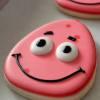 Simple Patrick Star Cookies 4