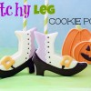 Witch Leg Cookie Pops 2