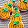 Easy Stacked Pumpkin Cookies