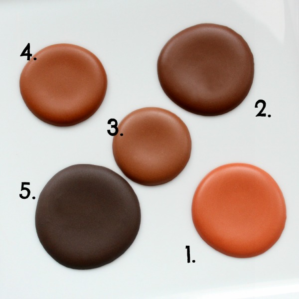 How To Make Brown Food Coloring - Howto Techno