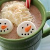 Easy Snowman Marshmallows