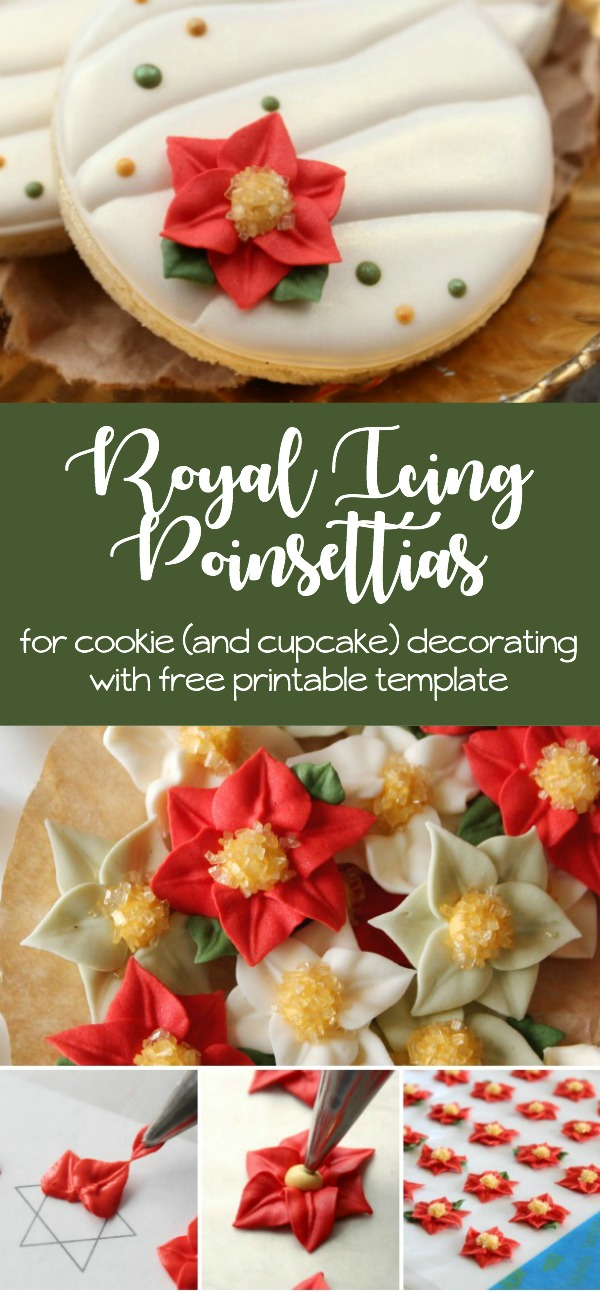 royal-icing-poinsettia-for-cookie-and-cupcake-decorating