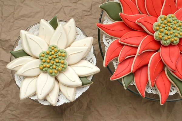 Easy Poinsettia Platter – The Sweet Adventures of Sugar Belle