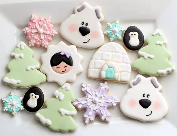 Easy Polar Bear Cookie 12