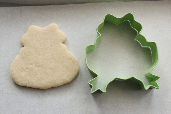 Easy Polar Bear Cookie 1b