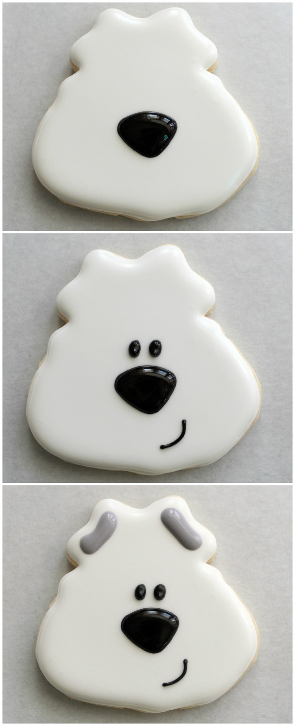 Easy Polar Bear Cookie 4