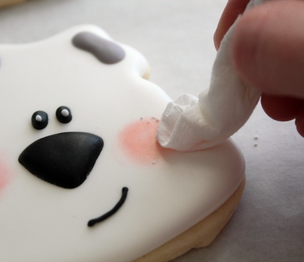 Easy Polar Bear Cookie 8
