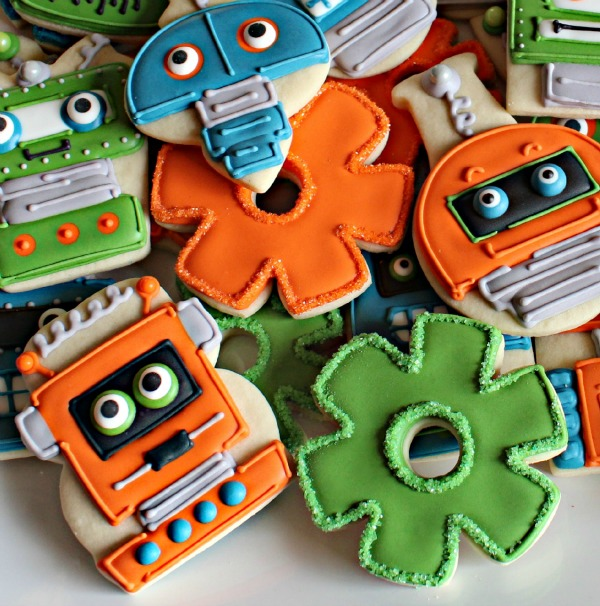 Robots and Gears
