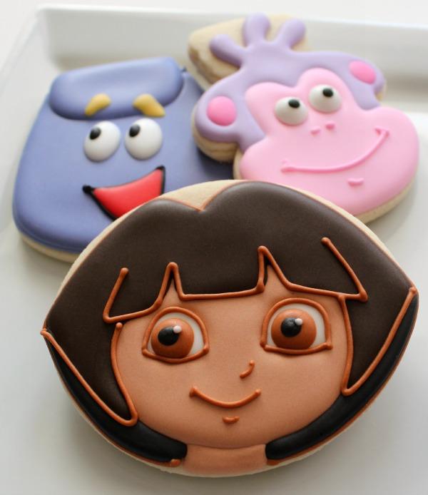 Simple Dora Cookies
