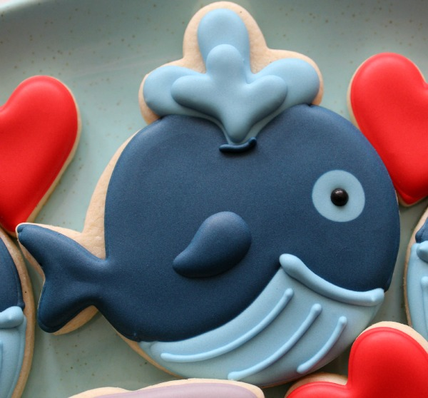 Whale Cookie