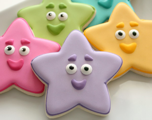Dora The Explorer Star Cookies