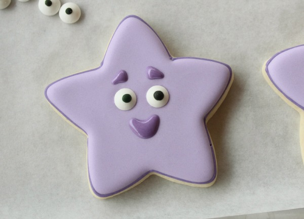 Easy Dora Star Cookies 3
