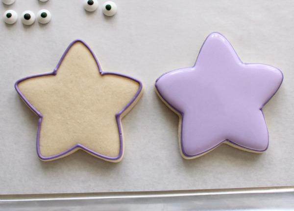 Easy Dora Star Cookies