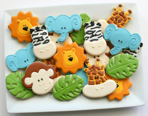 Jungle Animal Cookies 2