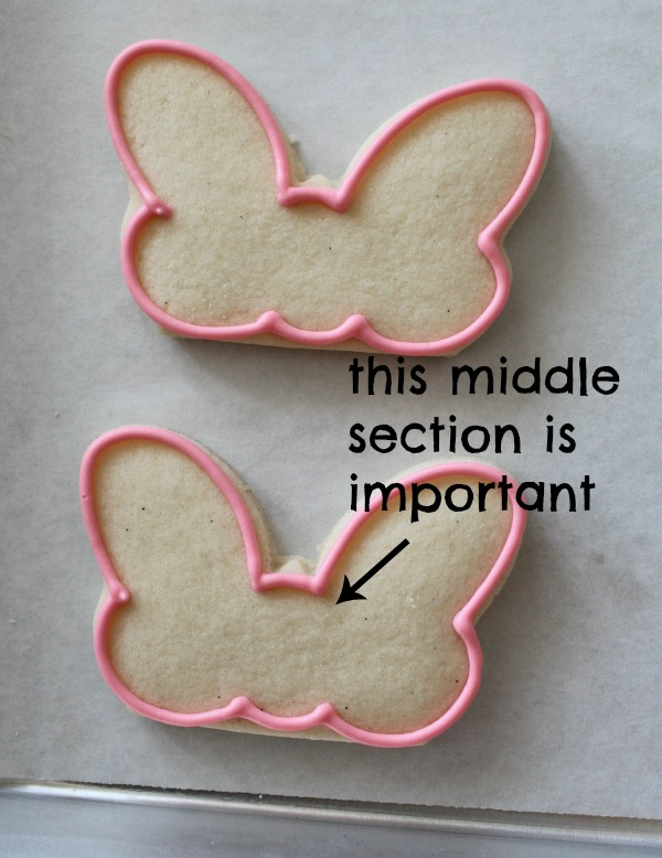 Minnie Mouse Bow Cookies 3
