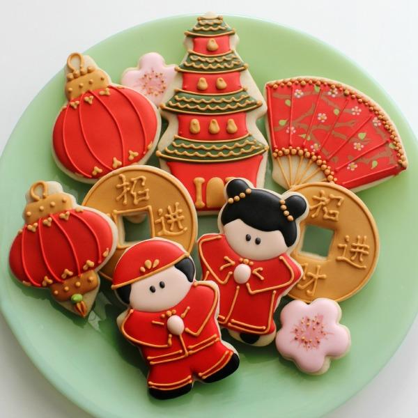 Simple Chinese Lantern Cookies The Sweet Adventures Of Sugar Belle