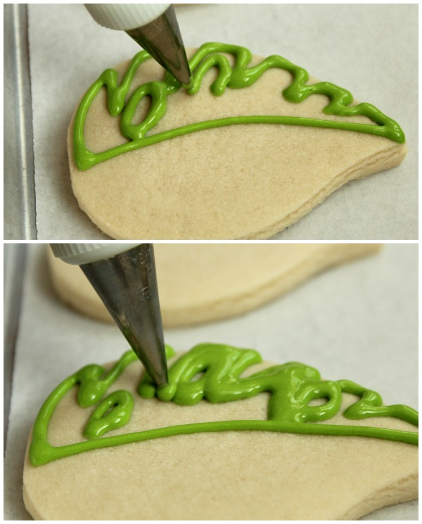 Tropical Leaf Cookies 3