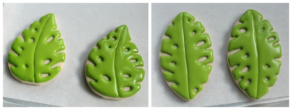 Tropical Leaf Cookies 5