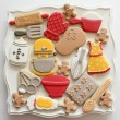 Baking Theme Cookies HR