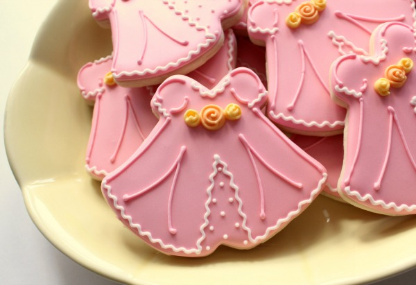 Christianing Dress Cookies