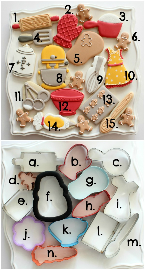 Creative Baking Cookie Set