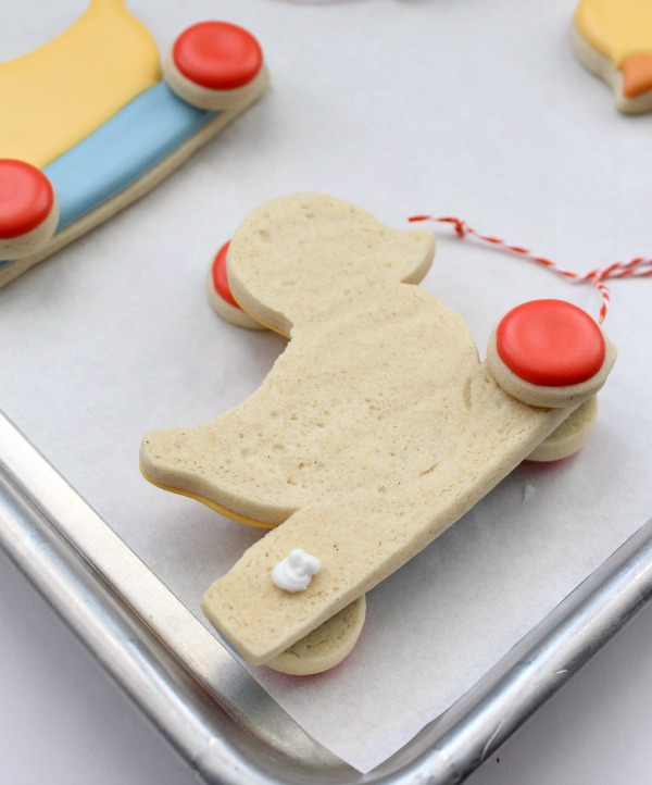 Duckie Pull Toy Cookies 13