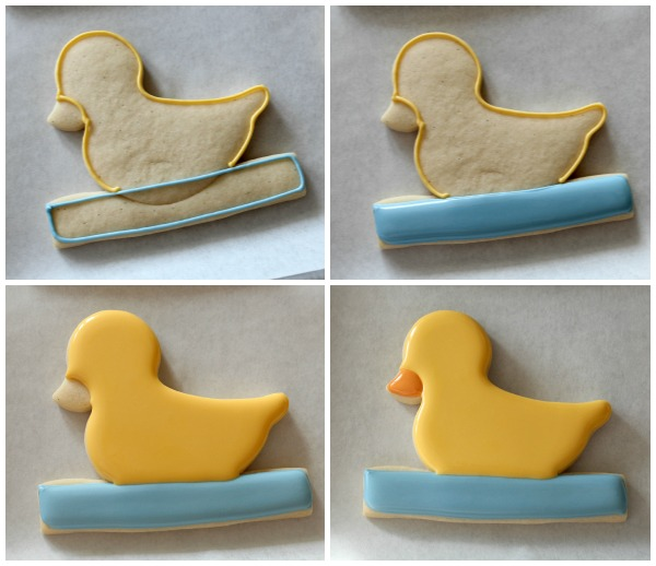 Duckie Pull Toy Cookies 7